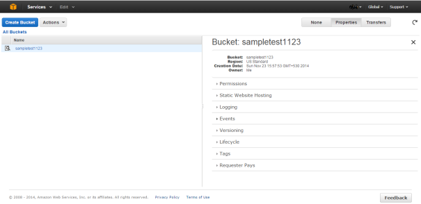 AWS_S3_Bucket_Properties