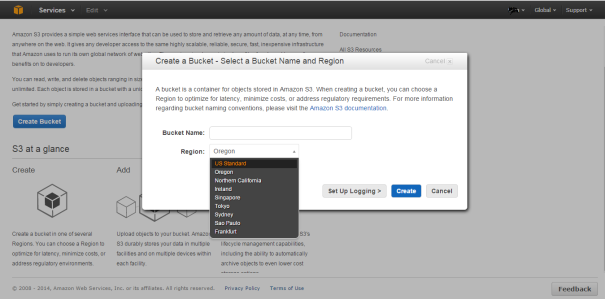 AWS_S3_Create_Bucket