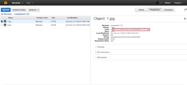 Aws_S3_Object_Properties