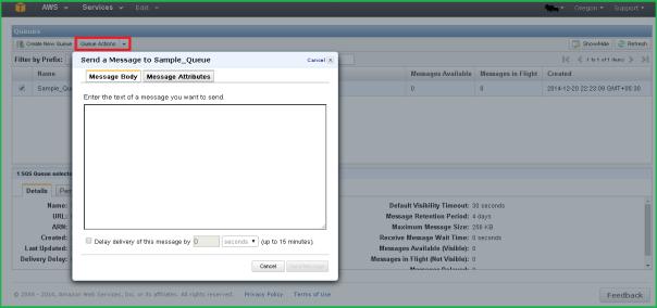 AWS Simple Queue Service